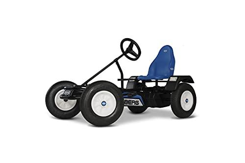BERG Gokart XXL Extra Sport Blue BFR | Kinderfahrzeug , Tretauto mit verstellbarer Sitz, Mit Freilauf, Kinderspielzeug geeignet für Kinder im Alter ab 5 Jahren