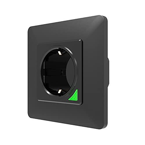 Tuya Smart Wall Socket,Wireless Socket Remote Control Timer Plug,Smart life APP Voice Remote Control EU 16A Wifi Power Plug Works With Google Home Alexa IFTTT