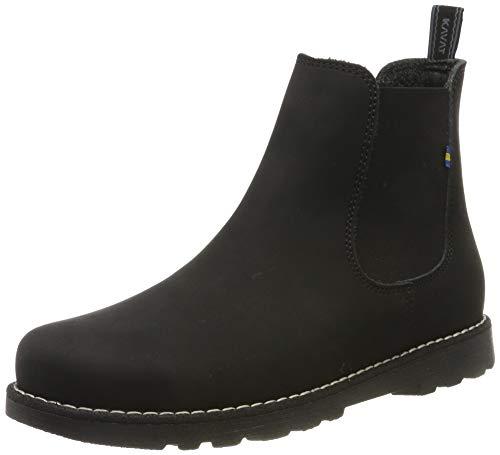 Kavat Unisex-Kinder Bodås JR XC Chelsea Boots, Schwarz (Black 911), 31 EU
