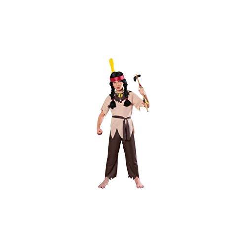 Rubie 's – Kostuum krijger indianen, voor kinderen (12126) Medium