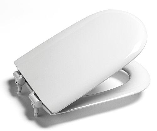 Roca Giralda vervangende toiletbril met standaard scharnieren 801461004