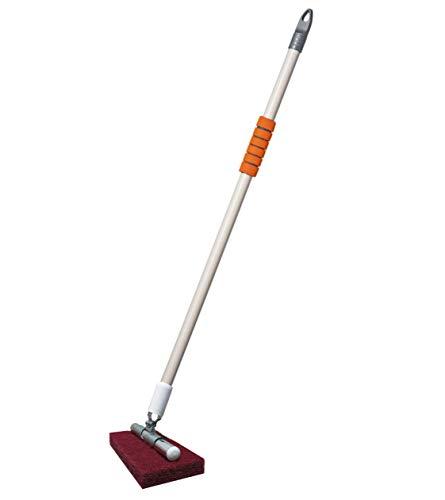 VIMAL JONNEY Long Handle Floor/Tile/Corner Cleaning Scrubber Brush (Multicolour)