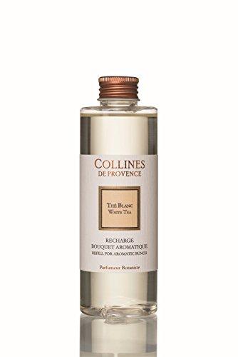 Collines de Provence - Nachfüllflasche für Duftbouquet/Duftdiffusor 'Weißer Tee' (Thé Blanc) 200 ml