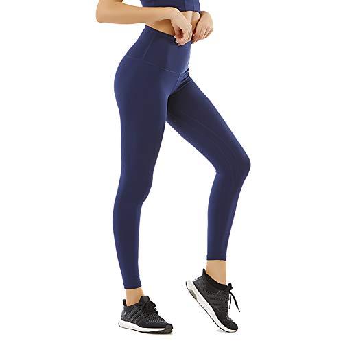 Sokaly Mujer Legging Pantalones de Chándal Suaves de Alta Elasticidad para Gimnasio...