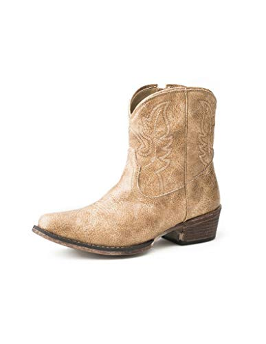 Roper womens Western Boot, Tan, 5.5 US