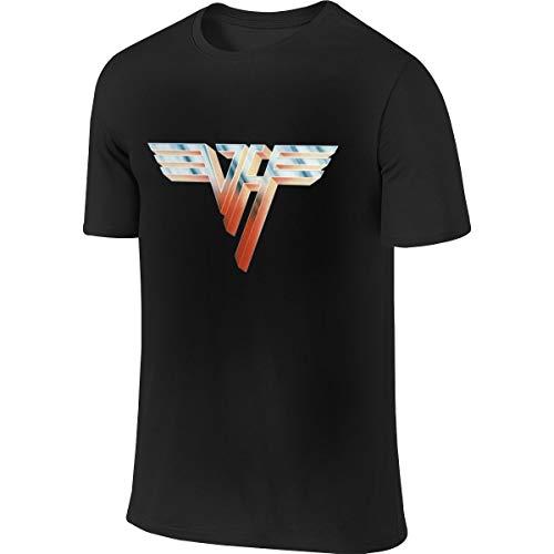 Van Halen Van Halen Ii Men's Round Collar Short Sleeve T Shirt,Shirt Large Black