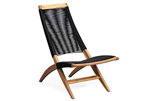 Patio Sense Lisa Lounge Chair, Natural