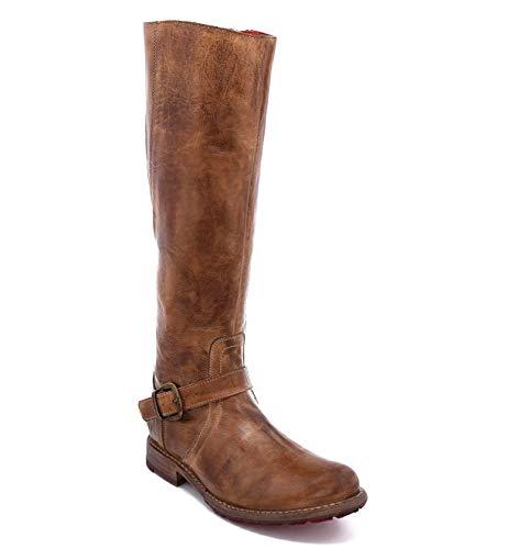 Bed|Stu Women's Glaye Boot (9, Tan Rustic)