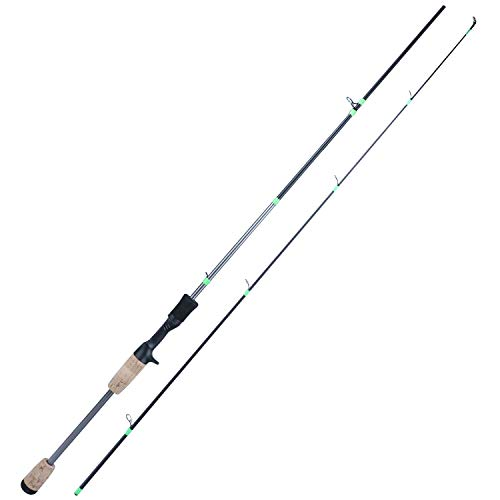 Sougayilang Resolute Fishing Rods, Spinning Rods & Casting Rods, Ultra-Sensitive Carbon Fishing Rod Blanks,Oxide Ring Stainless Steel Guides, Super Non-Slip Handle(Ultralight 1.8m/5.9ft Spinning Rod)