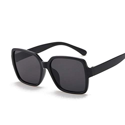 SHEANAON Gafas de Sol cuadradas de Ojo de Gato para Mujer, Gafas de Sol de Gran tamaño para Mujer, Gafas de Ojo de Gato para Mujer
