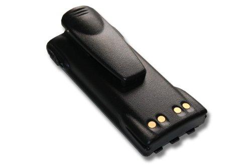 vhbw NiMH Akku 1500mAh (7.2V) für Funkgerät, Walkie Talkie Motorola GP1280, GP140, GP320, GP328, GP329, GP338, GP339, GP340, GP360 wie HNN9008A.