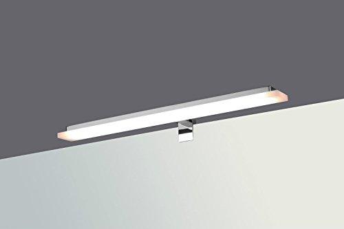LED Badleuchte Badlampe Spiegellampe Spiegelleuchte Schranklampe Aufbauleuchte, Typ:gerade - warmweiss