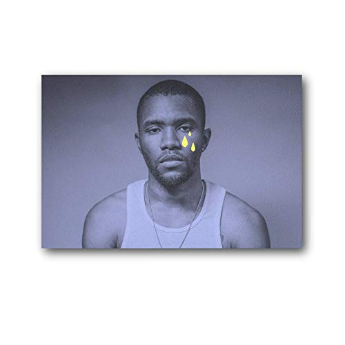 SHUISHOU Wall Art Channel Orange Frank Ocean Album Cover Poster Poster Cool Artworks Painting Wall Art Canvas Prints Hanging Picture Home Decor Posters Gift Idea 08×12inch(20×30cm)