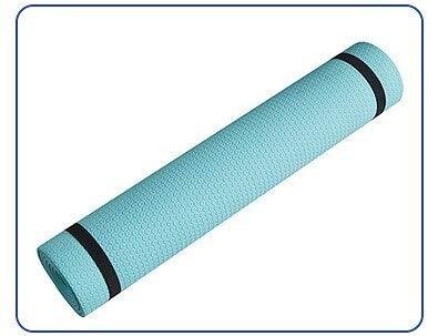 A-zht Conveniente Yoga y Pilates, deseable para Deportes, Estera de Fitness de Textura Resistente al lágrima y Suave, Estera de Yoga 1730x610x6mm Duradero de Yoga Antideslizante. Durable
