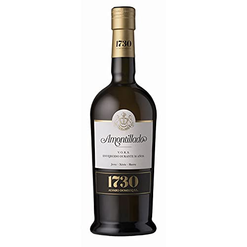 Vino Amontillado VORS 1730 de 37.5 cl - D.O. Jerez-Sherry - Bodegas Alvaro Domecq (Pack de 1 botella)