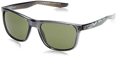 Nike EV0922-063 Unrest Frame green Lens Sunglasses, Crystal Anthracite/Nyc