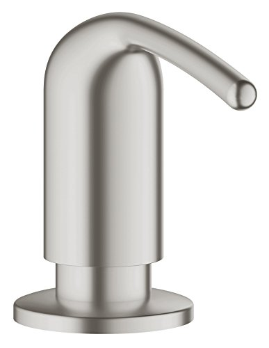 Grohe 40553DC0 Dispenser Sapone, Acciaio
