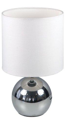 Ranex Tischleuchte mit Touchfunktion 6000.197, Weiß, 18 x 18 x 29 cm