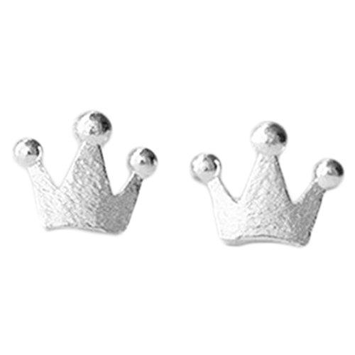 kanggest Orecchini da donna moda ragazza nuovo stile corona orecchini creoli orecchini per donne di La gioielli accessori, 1paio