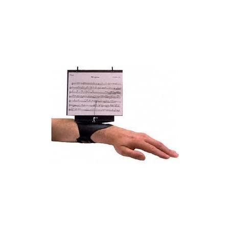 DEG Music Products Flutist's Friend Flute Lyre with Flip Folder