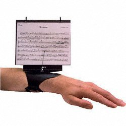 DEG Music Products Flutist's Friend Flute Lyre with Flip Folder
