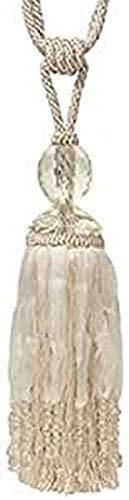 Riva Paoletti Savoy TIE Back Cream, Polyester, Sahne, One Size