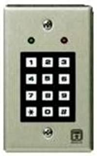 Corby 7120 Replacement Keypad - Indoor, Single-Gang - 2 LEDs