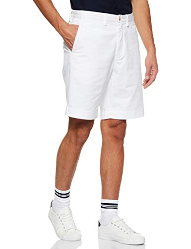 Polo Ralph Lauren Mens Stretch Classic Fit Chino Shorts (34, White)