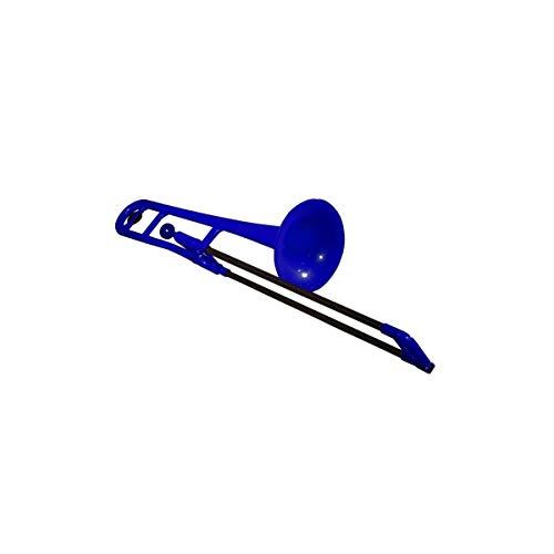 pBone 700641 - Trombón (plástico), color azul y negro