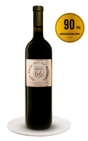 Route66 Wein Barbera Doc Op Red Wine LTD Edition - Classic Collection - Organically Cultivated Hand Harvested Grapes - Award Winning