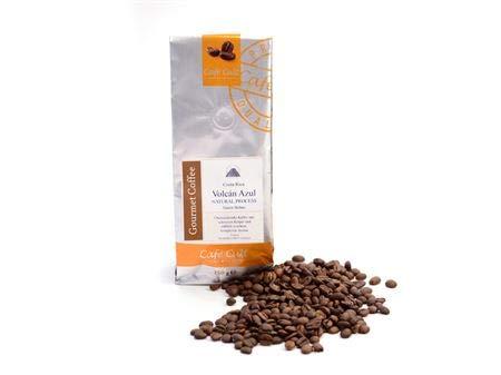 Kaffee - Costa Rica Volcan Azul NATURAL in 1 kg Tüte, ganze Bohne FCJ Kahle