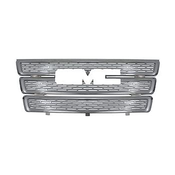 Bottom 2011 2012 Buick Lacrosse OC Parts Buick Lacrosse Chrome Front Grille Insert: Fits 2010