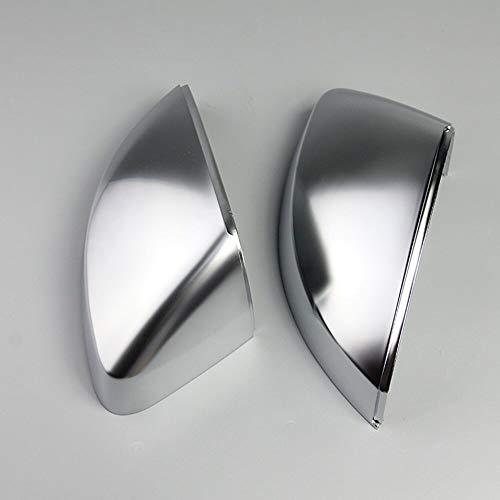 Specchio Esterno 1 Par De Cromo Mate Retrovisor Espejo Cap Shell Cubierta De Protección Fit For Audi A3 S3 RS3 2014 2015 2016 2017 2018 Car Styling