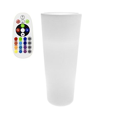 LEDKIA LIGHTING Vaso LED RGBW 95cm Ricaricabile