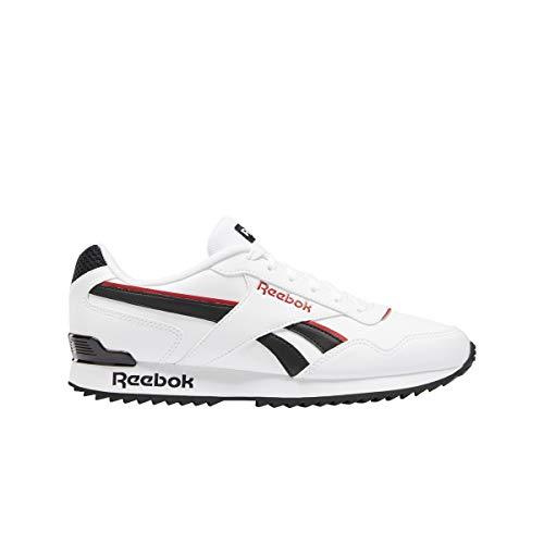 Reebok Royal Glide RPLCLP, Zapatillas de Running Hombre, Blanco/Negro/VECRED, 43 EU