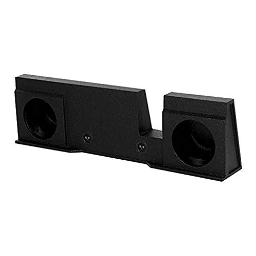 """Price comparison product image Q Power QBFORD10 2004 Ford 2004-2008 F-150 Dual 10"""" Subwoofer Box UnderSeat Downfire"""