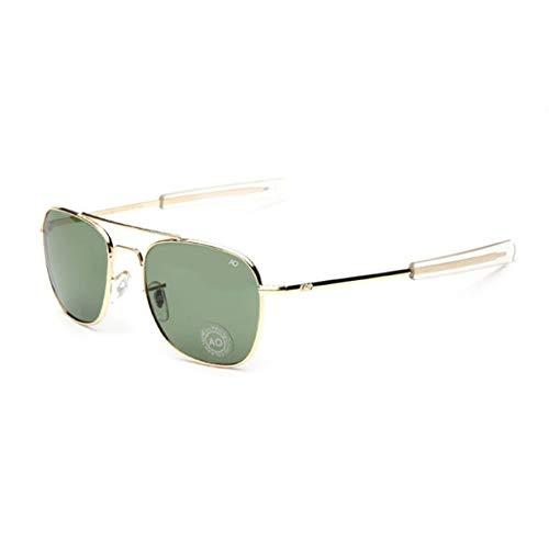 Sunglasses Fashion Army Military Pilot American Optical Glass Lens Glasses A