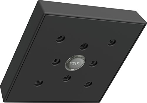 Delta RP70171BL Shower Head with H2O Kinetic Technology, Matte Black