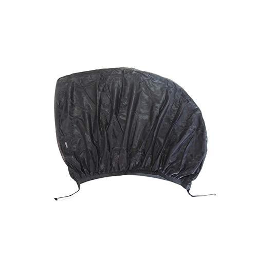 PPMM 2 parasoles para coche, extra oscuros, universales, con protección UV, autoadhesivos, para niños, 2 tamaños, protección solar