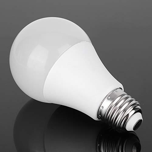 Heayzoki Bombilla WiFi Inteligente, Bombilla LED Smart WiFi, De Color De Atenuación RGB, Función De Memoria Y Control De Voz, con Modo Situacional(E27)