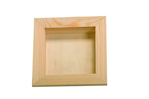 Artemio VIVT1515 vitrine, hout, beige, 15 x 3,8 x 15 cm