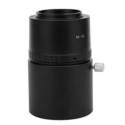 Ladieshow Anillo Adaptador de cámara, M48-2 Pulgadas Anillo de Montaje en T M42 * 0,75 Adaptador de telescopio astronómico para Nikon/Canon/Sony/Fujifilm/Olympus/Samsung Mirrorless Camera(FX)
