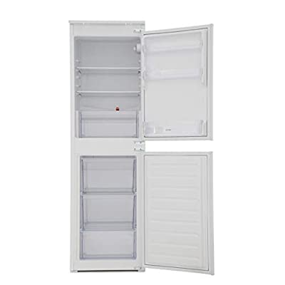 Indesit IB5050A1D 264 Litre Integrated Fridge Freezer 50/50 Split 177cm Tall A+ Energy Rating 54cm Wide - White