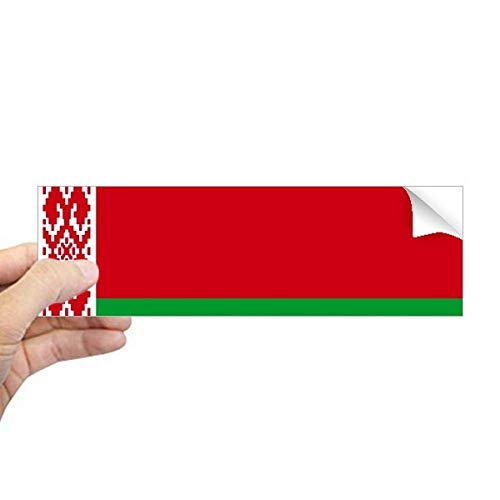 DIYthinker Wit-Rusland Nationale Vlag Azië Land Rechthoek Bumper Sticker Notebook Window Decal