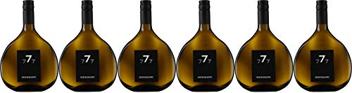 Weinwerk 777 Silvaner PREMIUM (Bocksbeutel) 2017 Trocken (6 x 0.75 l)