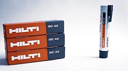 3 bombonas de gas Hilti GC 42 para GX 3 Número de artículo: 2142706 (3 unidades)
