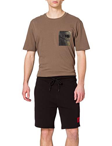 HUGO Herren Diz212 Lässige Shorts, Black1, M