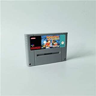 Game card The Magical Quest starring Mickey Mouse - Action Game Cartridge EUR Version ,Game Cartridge 16 Bit SNES , cartridge snes , cartridge super
