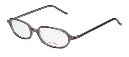 Vera Wang V20 For Ladies/Young Women/Girls Designer Full-Rim Shape Optical Classic Made In Japan Eyeglasses/Glasses (49-16-136, Lavender)