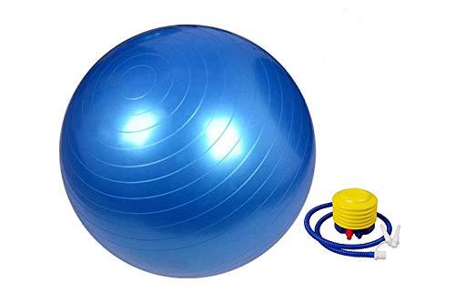 Palla da ginnastica 65cm sfera yoga liscia antiscivolo esercizi pilates fitness